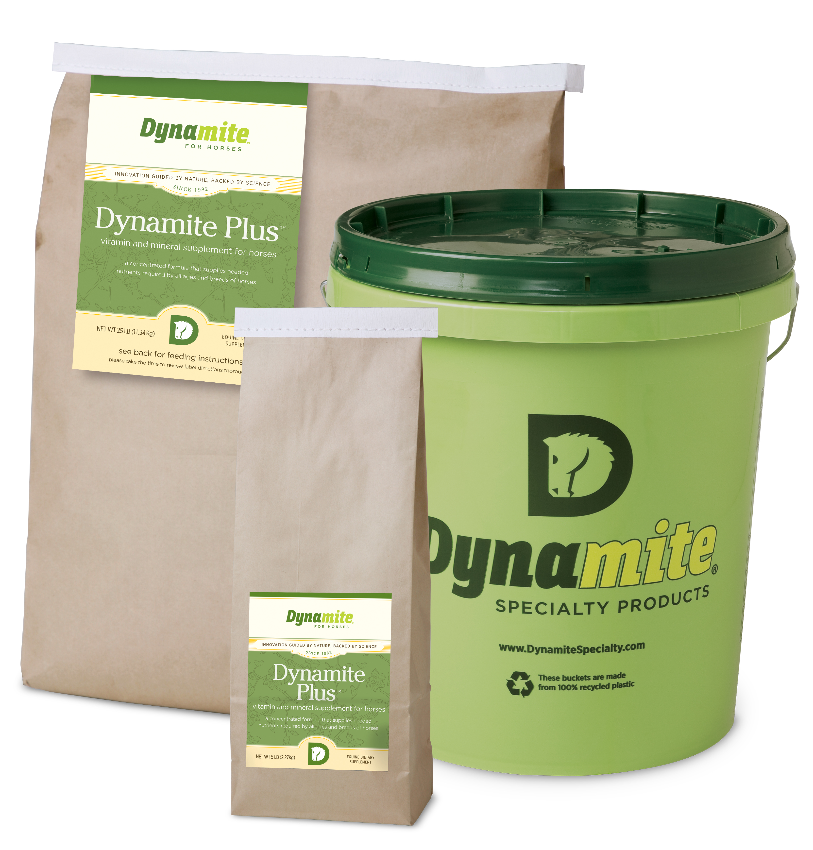 Dynamite Helps Suspensory Ligament